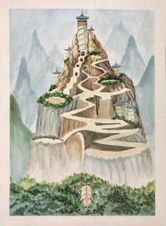 Avatar Airbender, Avatar Kyoshi, Avatar Ang, Team Avatar, Korra, Avatar Poster, Avatar World, Art And Craft Videos, Fantasy Paintings