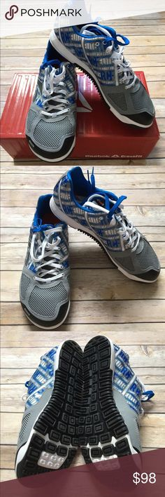 New - Men's Reebok Crossfit Nano 2.0 New - Men's Reebok Crossfit Nano 2.0 with 2 sets of laces. (Blue & white laces). Great for cross training. Reebok Shoes Sneakers