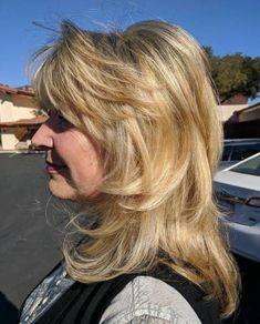 Mid-Length Layered Haircut Over 50