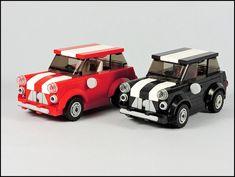 Lego Cars Instructions, Lego Police, Lego Military, Lego Wheels, Best Lego Sets, Mini Morris, Lego Racers, Lego Builder, Lego Modular