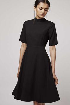 Photo 2 of Funnel Neck Midi Dress