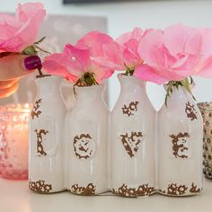 Put some love into your centerpiece *in-store only