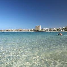 Playa de #LasVistas, #Tenerife - #IslasCanarias