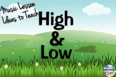 Organized Chaos: Teacher Tuesday: teaching high and low pitch