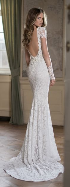 Agh, this is utterly gorgeous! Wedding Dress by Berta Bridal Fall 2015