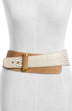 Raina 'Vixon' Leather Belt | Nordstrom - StyleSays