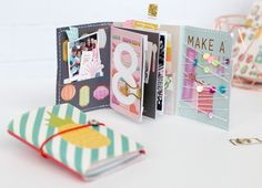 Big Picture Classes | One-Page Mini Albums: Cut-Apart Sheet Mini Album