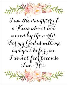 Image result for i am the daughter of a king