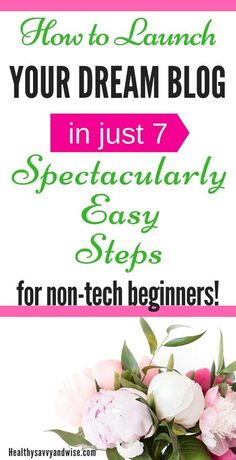 Start a blog the easy way with these fantastically simple steps for absolute beginners! Must-have blog tips for blogging in any niche you choose. Make money blogging or blog for enjoyment... I've got blog ideas and inspiration for everyone! A simple, non- Make Money Blogging, Make Money From Home, Way To Make Money, Blogging Ideas, Make Blog, How To Start A Blog, How To Make, Becoming A Blogger, Apps