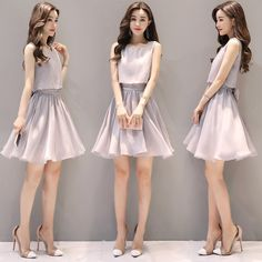 2019 Casual Fashion Trends For Women - Fashion Trends Cute Dresses For Teens, Outfits For Teens, Nice Dresses, Casual Dresses, Girls Dresses, Dress Outfits, Fashion Dresses, Cute Outfits, Looks Teen