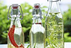 Mausteöljyt ja -etikat Carafe, Bottle, Flask, Decanter, Jars