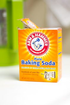 Baking soda is easily found cheap natural and safe soda baking
