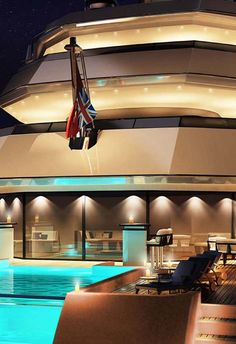 Luxury Mega Yacht..