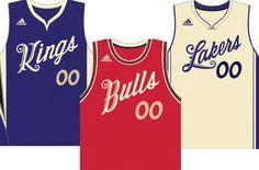 2015 NBA Christmas Jerseys