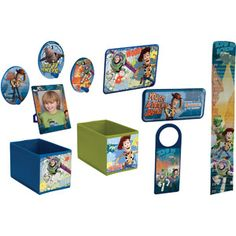 Disney Toy Story Decor-in-a-Box for Keegan's Room???