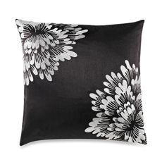 Corner Bloom Black Toss Pillow - Bed Bath & Beyond