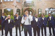 The Dapper Crew @b_reid_. Photo by @arielperry #weddingsonpoint. Tag your groomsmen