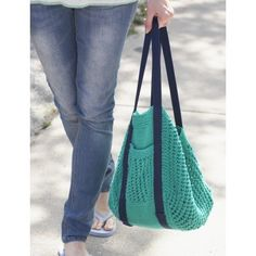 Go Green Market Bag   Yarnspirations   Free Pattern