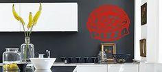 Wall Vinyl Sticker Decals Mural Room Design Pattern Pizza...