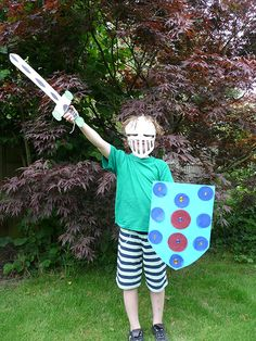 Childrens #Knights Party- Craft parties for kids in a box
