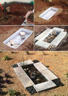 Ucuz ve Şık Bir Süs Havuzu (2)