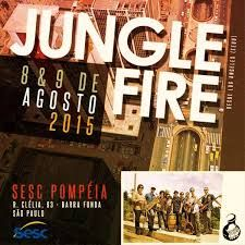 "Show ""Jungle Fire"" - Jazz na Fabrica - 09.08.2015"