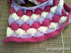 Different knitting stitches - Point Arch. Knitting Stiches, Crochet Stitches, Knit Crochet, Stitch Patterns, Knitting Patterns, Cast Off, How To Start Knitting, Knit Fashion, Knitted Shawls
