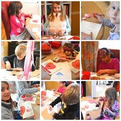 Valentine Card-Making Party | Valentine Craft Party | Natalie Bradley Events | Soiree | Southern Event Planning | Event Crafts