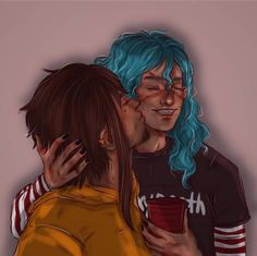 Sally and Larry Larry, Sally Face Game, Epic Art, Rock N Roll, Game Art, Erotic, Anime, Cute, Fictional Characters