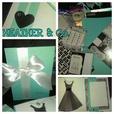 Birthday invite w/Tiffany theme for Heather