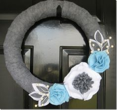 Lots of Wreath ideas - would love to be a wreath person