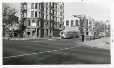 Capital Transit PCC at 6th Street and Pennsylvania Avenue NW (early-1950s).