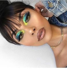 Party night makeup Miladies net is part of eye-makeup - Party night makeup Miladies net Makeup Eye Looks, Cute Makeup, Glam Makeup, Gorgeous Makeup, Pretty Makeup, Hair Makeup, Red Lip Eye Makeup, Makeup List, Makeup On Fleek