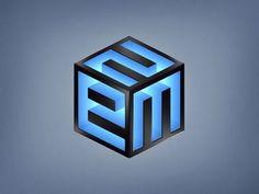 2EM Cube Logo Design