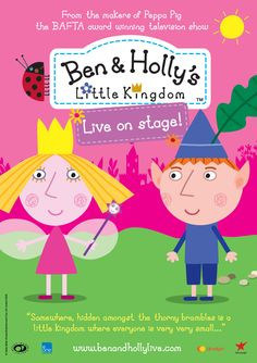 Ben & Holly's Little Kingdom - Live on Stage! Olympia Theatre, Dublin 9 & 10 May 2015