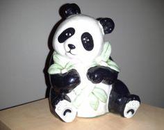 Hand Painted Panda Figurine