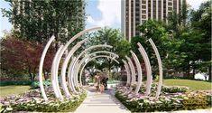 Landscape Architecture Drawing, Landscape And Urbanism, Museum Architecture, Landscape Design Plans, Park Landscape, Urban Architecture, Garden Architecture, Urban Landscape, Amazing Architecture