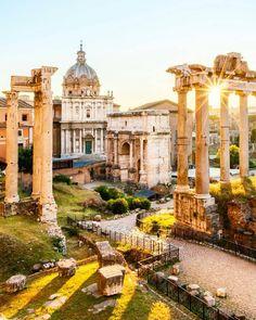 "tourism-italy: ""Fori Imperiali, 2000 years of architecture. Rome. repost from @paolobalsamo89 - • #foriimperiali #architettura #architecture #romans #roma #rome #columns #temples #colosseo #colosseum #ruins #vaticano #vatican #roma #rome #italia..."
