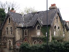 Abandoned and in decay - London, England  Just imagine how nice this house must have been.