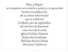spanish | wedding!!! | pinterest | cheap wedding invitations, Wedding invitations