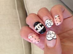 But not so crazy. Just the flower n nude w dots