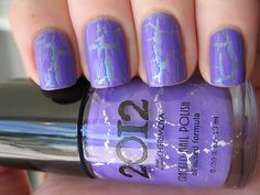 i want to try this brand of crackle polishes, 2012 (available at some Walgreens). and this is another great nail polish blog