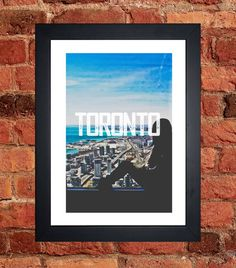 Items similar to Toronto CN Tower Print on Etsy Toronto Cn Tower, My Etsy Shop, Digital, Unique Jewelry, Frame, Handmade Gifts, Prints, Vintage, Picture Frame