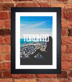 Toronto CN Tower Print - Digital download.