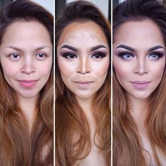 Several Important Tips on How To Contour for Real Life ★ Easy Contouring for Beginners picture 2 ★ See more: http://glaminati.com/how-to-contour/ #makeup #makeuplover #makeupjunkie #contour