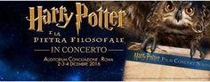 Harry Potter in concerto: 2-3-4 dicembre Auditorium Conciliazione