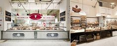 Eataly...Mario Batali's venture. What a cool place! Open Italian like market with restaurants scattered about. Yummo!