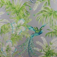 Osborne and Little Bird of Paradise Tapet