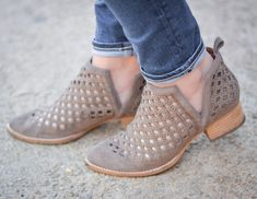 My Favorite Sweater for Fall | Cutout booties