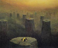 Zdzisław Beksinski surrealismo gotico 5